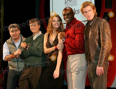 Nick Hayek Jr Photo - Swatch Watch Launches Its New Paparazzi Watch at the Supper Club in New York City 10202004 Photo Bybarry TalesnickipolGlobe Photos Inc 2004 (Swatch Group Ceo) Nick Hayek Jr Bill Gates Mischa Barton Carl Lewis and Denis Leary