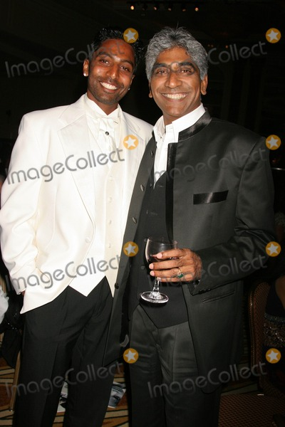 Ashok Amritraj Photo - the Vijay Amritraj Foundation 2008 Gala Banquet Four Seasonsbeverly Wilshire Hotel Beverly Hills California 10-18-2008 Prakash Amritraj and Ashok Amritraj Photo Clinton H Wallace-photomundo-Globe Photos Inc