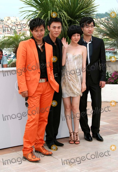 Chen Sicheng Photo - Wu Wei Chen Sicheng Tan Zhuo  Qin Hao Actors Spring Fever Photo Call at the 2009 Cannes Film Festival at Palais Des Festival Cannes France 05-14-2009 Photo by David Gadd Allstar--Globe Photos Inc 2009