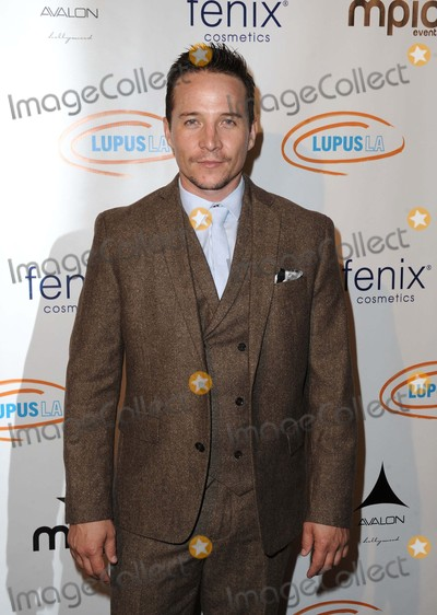 Travis Aaron Wade Photo - Travis Aaron Wade attending the Get Lucky For Lupus LA Celebrity Poker Tournament Held at the Avalon in Hollywood California on September 162015 Photo by David Longendyke-Globe Photos Inc