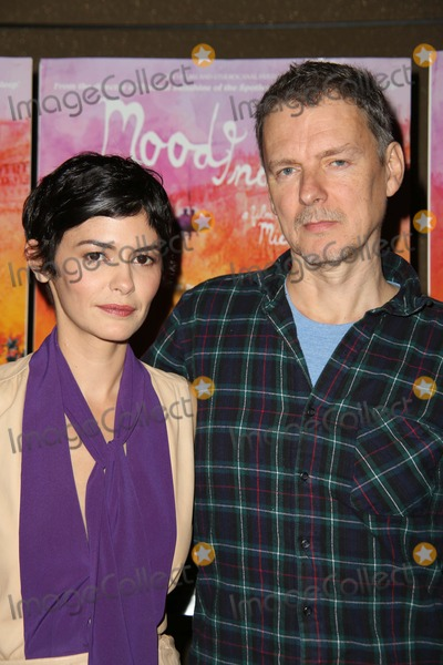 AUDREY TATOU Photo - The New York Premiere of Mood Indigo the Tribeca Grand Hotel NYC July 16 2014 Photos by Sonia Moskowitz Globe Photos Inc 2014 Audrey Tatou Michel Gondry