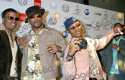 Ralph Tresvant Photo - Usher - 25th Birthday Party at Pearl West Hollywood CA 10182003 Photo by Clinton H Wallace  Ipol  Globe Photos Inc 2003 New Edition - Ricky Bell Ralph Tresvant and Ronnie Devoe
