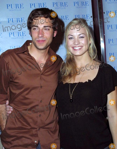 Yvonne Strzechowski Photo - the Cast of Nbcs New Show Chuck Attend a Premiere Party at Pure Nightclub Las Vegas NV 09-22-2007 Photo by Ed Geller-Globe Photos 2007 Zachary Levi and Yvonne Strzechowski