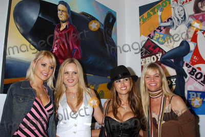 Julie McCullough Photo - Playmate Artist Victoria Fuller Art Exhibition at the Wentworth Gallery at the Grove Los Angeles CA 03182004 Photo by Miranda ShenGlobe Photos Inc 2004 Stacy Fuson Victoria Fuller Jennifer Walcott and Julie Mccullough
