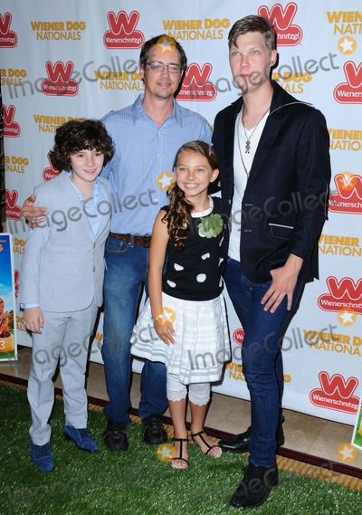Austin Anderson Photo - Julian Feder Jason Londoncaitlin Carmichael Austin Anderson attending the Los Angeles Premiere of Wiener Dog Nationals Held at the Pacific Grove Theatres in Los Angeles on June 18 2013 Photo by D Long- Globe Photos Inc