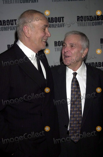 Fred Ebb Photo - Roundabout Theatre Companys 2004 Spring Gala Celebration (Special Musical Tribute to John Kander and Fred Ebb) Mandarin Oriental New York Hotel New York City 04262004 Photo by John KrondesGlobe Photos Inc 2004 John Kander and Frank Langella
