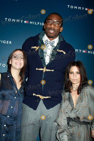 Amare Stoudemire Photo - New York Fashion Week-tommy Hilfiger Fashion Show Celebrities Backstage and Front Row Lincoln Centernyc February 13 2011 Photos by Sonia Moskowitz Globe Photos Inc 2011 Amare Stoudemire Elizabeth Hilfiger and Ali Hilfiger