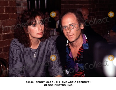 Art Garfunkel Photo -  Penny Marshall and Art Garfunkel Globe Photos Inc