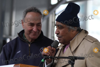 Charlie Rangel Photo - Stand For Freedom March and Rally For Voting Rights  December 10 Is United Nations Human Rights Day Rally Held at Dag Hammarskjold Plaza  United Nations Bruce Cotler 12 10 11 NY Senator Charles Schumer and NY Congressman Charlie Rangel