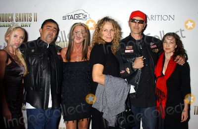 HELLS ANGELS Photo - Hells Angels the Boondock Saints 2 All Saints Day Los Angeles Premiere Archlight Theater Hollywood Ca 10-28-2009 Photo by Phil Roach-ipol-Globe Photos Inc2009