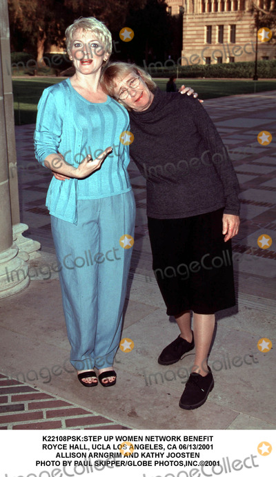 Allison Arngrim Photo - step Up Women Network Benefit Royce Hall Ucla Los Angeles CA 06132001 Allison Arngrim and Kathy Joosten Photo by Paul SkipperGlobe Photosinc