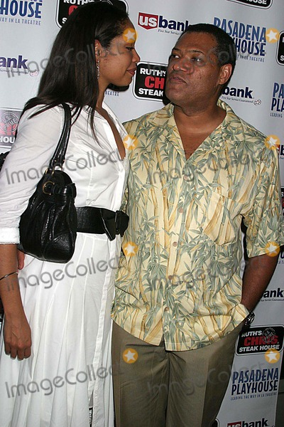 August Wilson Photo - Pasadena Playhouse Presents the Opening of August Wilsons Fences the Pasadena Playhouse Pasadena CA 09-01-2006 Laurence Fishburne and Wife Gina Torres Photo Clinton H Wallace-photomundo-Globe Photos Inc