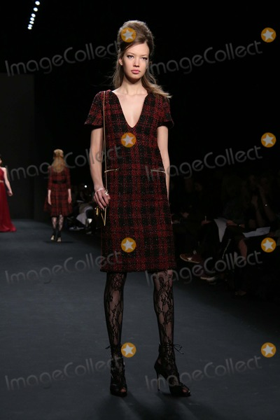 Badgley Mischka Photo - Badgley Mischka Fall 2015 Fashion Show- Mercedes Benz Fashion Week Lincoln Center NYC February 17 2015 Photos by Sonia Moskowitz Globe Photos Inc