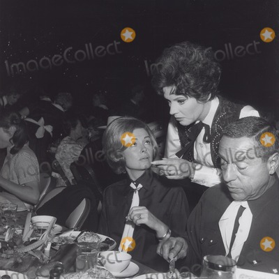 Donna Reed Photo - Polly Bergen with Donna Reed and Tony Owens at Share Party Supplied by Globe Photos Inc