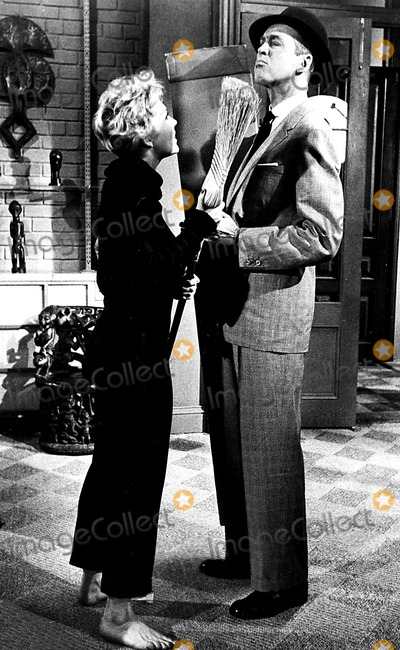 Kim Novak Photo - Kim Novak and Jimmy Stewart in Bell Book Candle 1958 Supplied by Globe Photos Inc Kimnovakretro