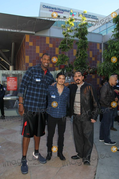 Benny Nieves Photo - 5th Annual Celebrity Blood Drive Hosted by Nicholas Gonzalez and Benny Nieves Childrens Hospital Los Angeles-blood Donation Center Los Angeles CA 12142013 Jason Collins Nicholas Gonzalez and Emilio Rivera Clinton H WallacephotomundoGlobe Photos Inc