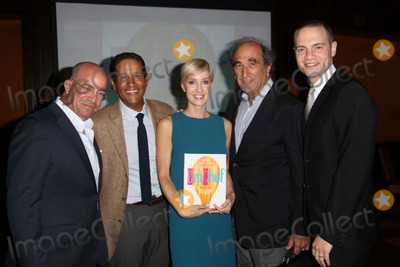 Andrew Lack Photo - Unicef and Hsn Host Event to Celebrate the Launch of the Cookbook Unichef Assembled by Hilary Gumbel the Lambs Club NYC September 15 2014 Photos by Sonia Moskowitz Globe Photos Inc 2014 Jeff Zucker Bryant Gumbel Hilary Gumbel Andrew Lack Jordan Roth