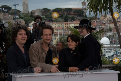 August Diehl Photo - Actors Guillaume Gallienne (l-r) August Diehl Director Sylvie Verheyde and Pete Doherty Pose at the Photocall of Confessions of a Child of the Century During the 65th Cannes Film Festival at Palais Des Festivals in Cannes France on 20 May 2012 Photo Alec Michael Photo by Alec Michael-Globe Photos Inc