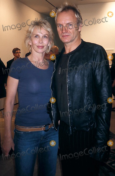 Sting Photo - Celebrities Out and About at the Lehmann Maupin Gallery New York City 11-05-2005 Photo Rose Hartman-Globe Photos Inc 2005 Sting Trudie Styler