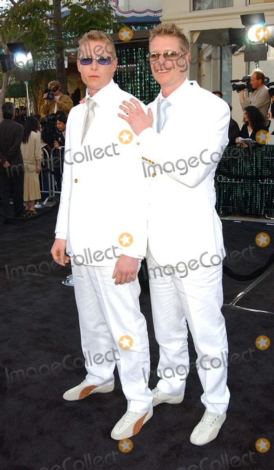 Adrian Rayment Photo - Matrix Reloaded - Los Angeles Premiere the Mann Village Theater Westwood CA 05072003 Photo by Fitzroy Barrett  Globe Photos Inc 2003 Adrian Rayment  Neil Rayment