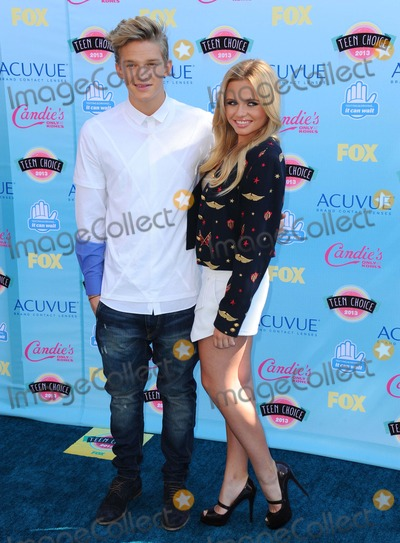 Ali Simpson Photo - Cody Simpsonali Simpson attending the 2013 Teen Choice Awards - Arrivals Held at the Gibson Amphitheatre in Universal City California on August 11 2013 Photo by D Long- Globe Photos Inc