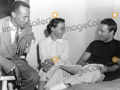 Dorothy Dandridge Photo - Harry Belafonte_dorothy Dandridge_marlon Brando Photo BysmpGlobe Photos Inc