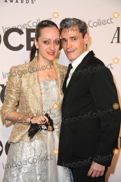 Ruben Toledo Photo - The 2014 68th Annual Tony Awards Radio City Music Hall NYC June 8 2014 Photos by Sonia Moskowitz Globe Photos in 2014 Isabel and Ruben Toledo