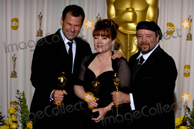 Joel Harlow Photo - Joel Harlow Mindy Hall and Barney Burman During the 82nd Academy Awards Held at the Kodak Theatre on March 7 2010 in Los Angeles Photo Michael Germana - Globe Photos Inc 2010