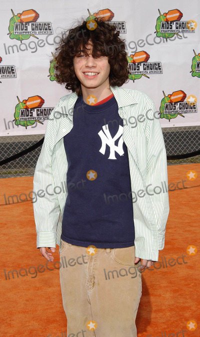 Adam Lamberg Photo - Nickelodeons 16th Annual Kids Choice Awards 2003- Arrivals Barker Hanger Santa Monica CA 04122003 Photo by Fitzroy Barrett  Globe Photos Inc 2003 Adam Lamberg