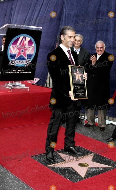 Alejandro Fernandez Photo - Alejandro Fernandez Jr - Alejandro Fernandez Jr Is Honored with the 2296th Star on the Hollywood Walk of Fame - 6160 Hollywood Boulevard Hollywood California - 12-02-2005 - Photo by Nina PrommerGlobe Photos Inc 2005