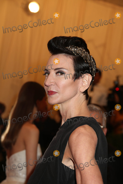 Amy Fine Collins Photo - The Metropolitan Museum of Art Costume Institute Gala Celebrating the Exhibition punkchaos to Couture the Metropolitan Museum of Art NYC May 6 2013 Photos by Sonia Moskowitz Globe Photos 2013 Amy Fine Collins