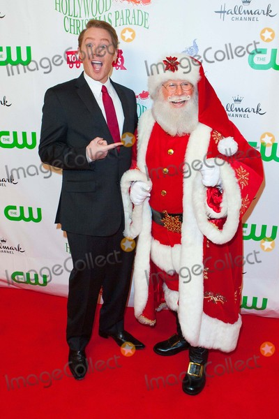 Clay Aiken Photo - Clay Aiken and Santa Attend the Hollywood Christmas Parade on November 29th 2015 on Hollywood Boulevard in Hollywoodcaliforniaphototony LoweGlobephotos