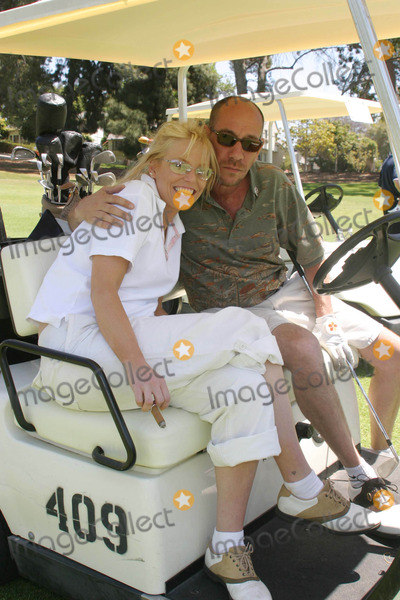 Jamie White Photo - Jamie White and Miguel Ferrer - 33rd Annual Lapd Celebrity Golf Tournament - Rancho Park Golf Course Los Angeles CA - 05012004 - Photo by Nina PrommerGlobe Photos Inc2004