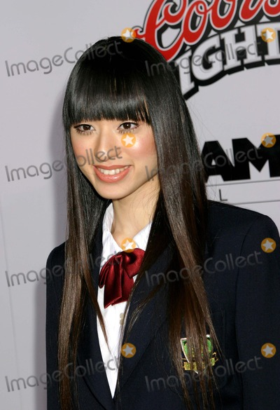 Chiaki Kuriyama Photo - - Kill Bill Vol 1 - Los Angeles Premiere - Chinese Theatre Hollywood CA - 09292003 - Photo by Ed Geller  Egi  Globe Photos Inc 2003 Chiaki Kuriyama