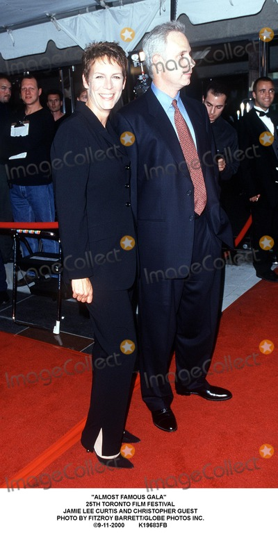 Jamie Lee Photo - Almost Famous Gala 25th Toronto Film Festival Jamie Lee Curtis and Christopher Guest Photo by Fitzroy BarrettGlobe Photos Inc 9-11-2000