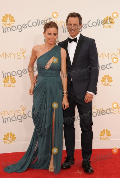 Alexi Ashe Photo - Seth Meyers Alexi Ashe attending the 66th Annual Primetime Emmy Awards -Arrivals Held at the Nokia Theatre in Los Angeles California on August 25 2014 Photo by D Long- Globe Photos Inc