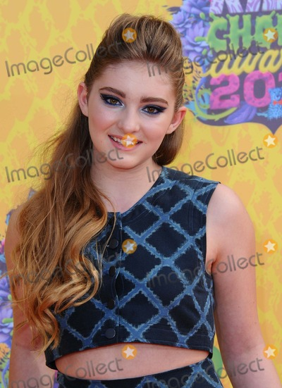 Willow Shields Photo - Willow Shields attending the Nickelodeons 27th Annual Kids Choice Awards Held at the Usc Galen Center in Los Angeles California on March 29 2014 Photo by D Long- Globe Photos Inc