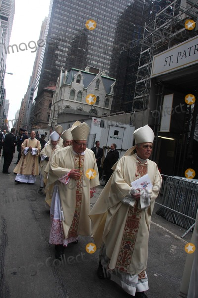 CARDINAL EGAN Photo - Cardinal Egan Funeral at St Patricks Cathedral in New York City on Tuesday March 10th 2015 Photo by William Regan