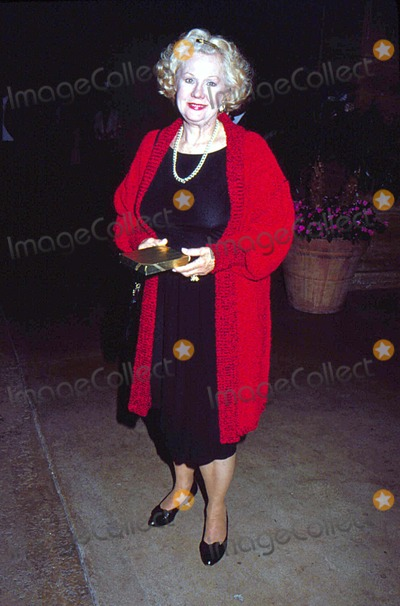 Virginia Mayo Photo - Virginia Mayo at Love Letters 4-1990 15868 Photo by Phil Roach-ipol-Globe Photos Inc