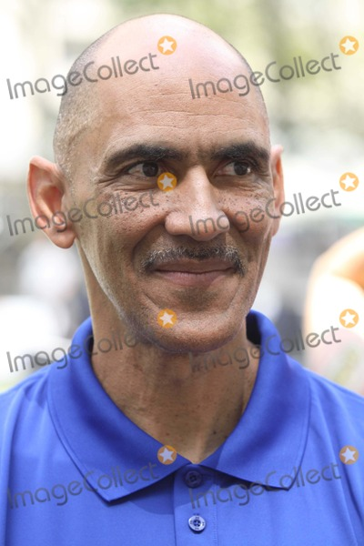 Tony Dungy Photo - Tony Dungy at Madden Nfl 12 Pigskin Pro-am Game in Bryant Park 7-27-2011 Photo by John BarrettGlobe Photos Inc