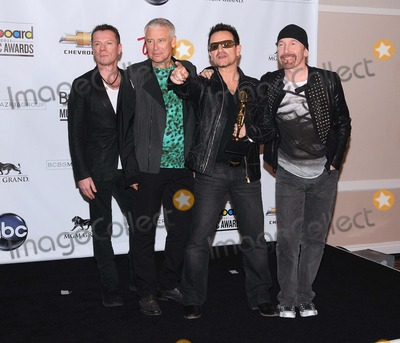 Adam Clayton Photo - Billboard Awards at the Mgm Grand Arena in Las Vegas NV  52211 photo by James diddick-globe Photos  2011u2larry Mullen Junior Paul David Hewson (Bono) David Howell Evans (the Edge) and Adam Clayton