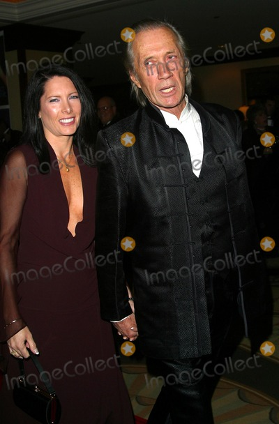 Annie Bierman Photo - David Carradine and Annie Bierman to Protect and to Serve Benefiting the Los Angeles Police Protective League Century Plaza Hotel Century City CA November 8 2002 Photo by Nina PrommerGlobe Photos Inc2002