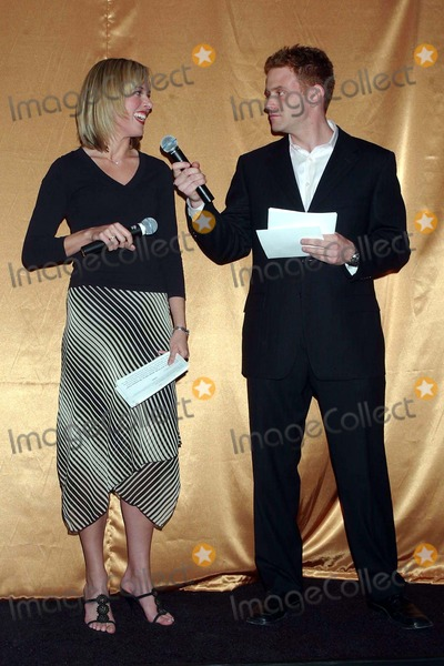 Amy Henry Photo - Hersheys Kisses Party to Launch New Kiss Filled with Caramel at Empire State Building  New York City 04282004 Photo Ken Babolcsay IpolGlobe Photosinc 2004 Amy Henry and Nick Warnock