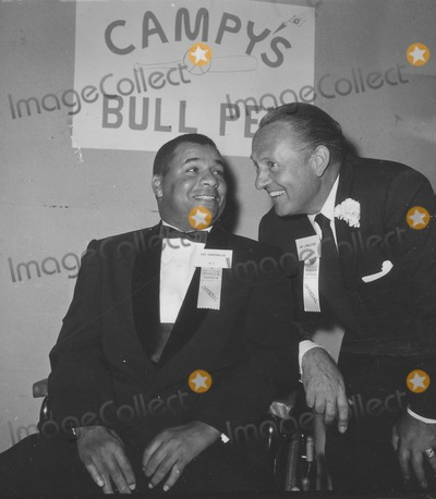 Art Linkletter Photo - Art Linkletter with Roy Campanella A493-2a Supplied by Globe Photos Inc Artlinkletterretro