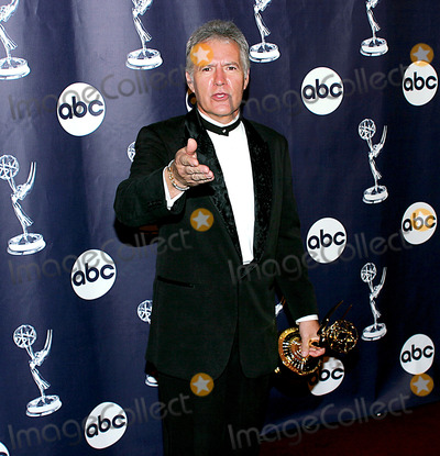 Alex Trebek Photo - The National Television Academy presents The 30th Annual Daytime Emmy Awards  Friday May 16 2003Radio City Music Hall  NYCAlex Trebek - Jeopardy Host - winner of Outstanding Game Show Host - Jeopardy - Syn networkPHOTO BYANTHONY G MOOREGLOBE PHOTOS INC  2003K30728AGM