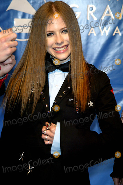 Avril Lavigne Photo - Avril Lavigne K29234lcv Sd0223 the 45th Annual Grammy Awards (Arrivals) at Madison Square Garden in NE York City Photo ByGlobe Photos Inc