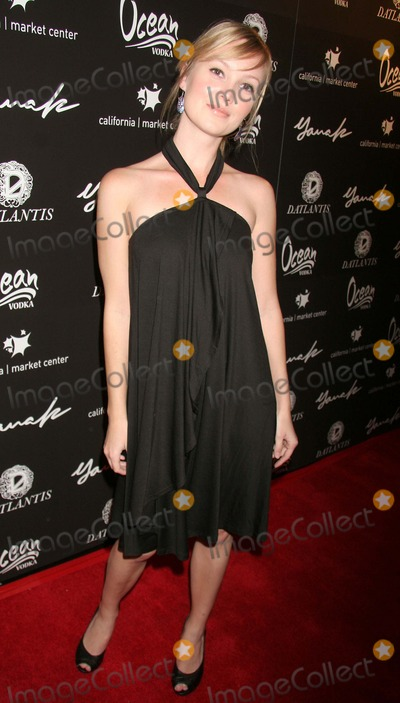 Sara Simmonds Photo - Yana K Fall 2007 Collection - Arrivals  Runway California Market Center Los Angeles CA 03-24-07 Sara Simmonds Photo Clinton H Wallace-photomundo-Globe Photos Inc