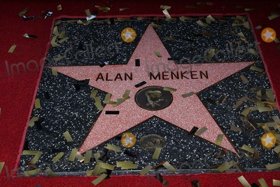 Alan Menken Photo - Composer Alan Menken Honored with Star on the Hollywood Walk of Fame El Capitan Theatre Hollywood CA 11102010 Alan Menkens Star on the Hollywood Walk of Fame Photo Clinton H Wallace-photomundo-Globe Photos Inc 2010