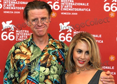 Alex Cox Photo - Alex Cox Jaclyn Jonet Director  Actress Repo Chick Photocall at 66th Venice Film Festival in Venice Italy 09-08-2009 Photo by Graham Whitby Boot-allstar-Globe Photos Inc