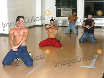 Chippendales Dancers Photo - Chippendale Dance Auditions New York City 11052004 Photo by Barry TalesnickipolGlobe Photosinc Chippendale Dancers